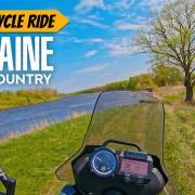 Ukraine backcountry motorcycle ride youtube 60p