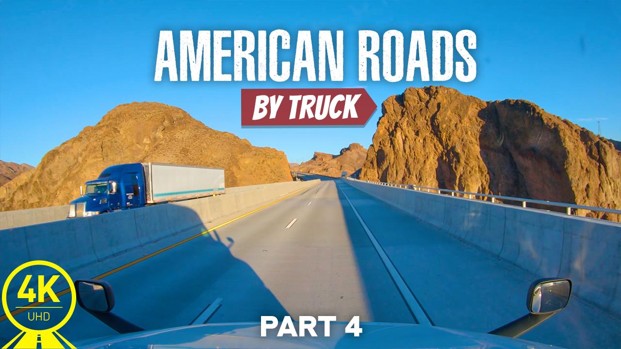 4k American roads by truck 4 YOUTUBE