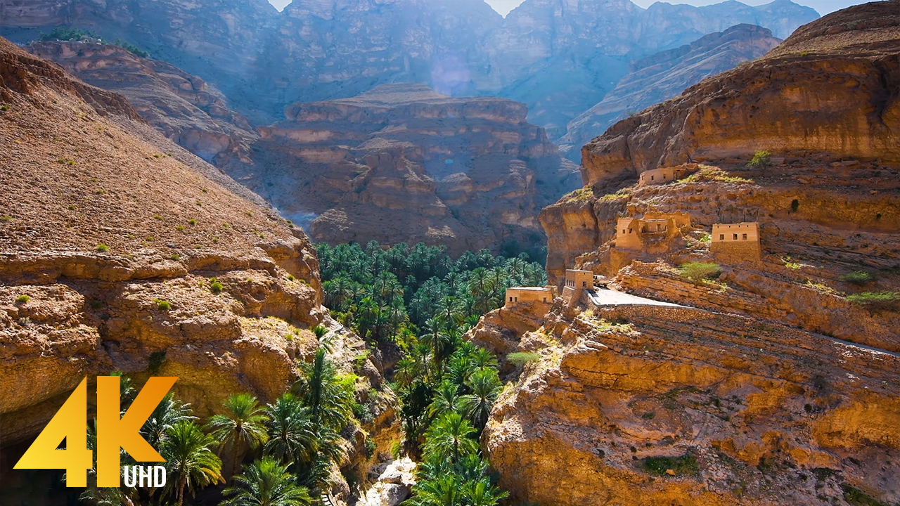 4k_Incredible_Oman_Best_Scenic_Nature_Places_Part_1_Nature_Relax