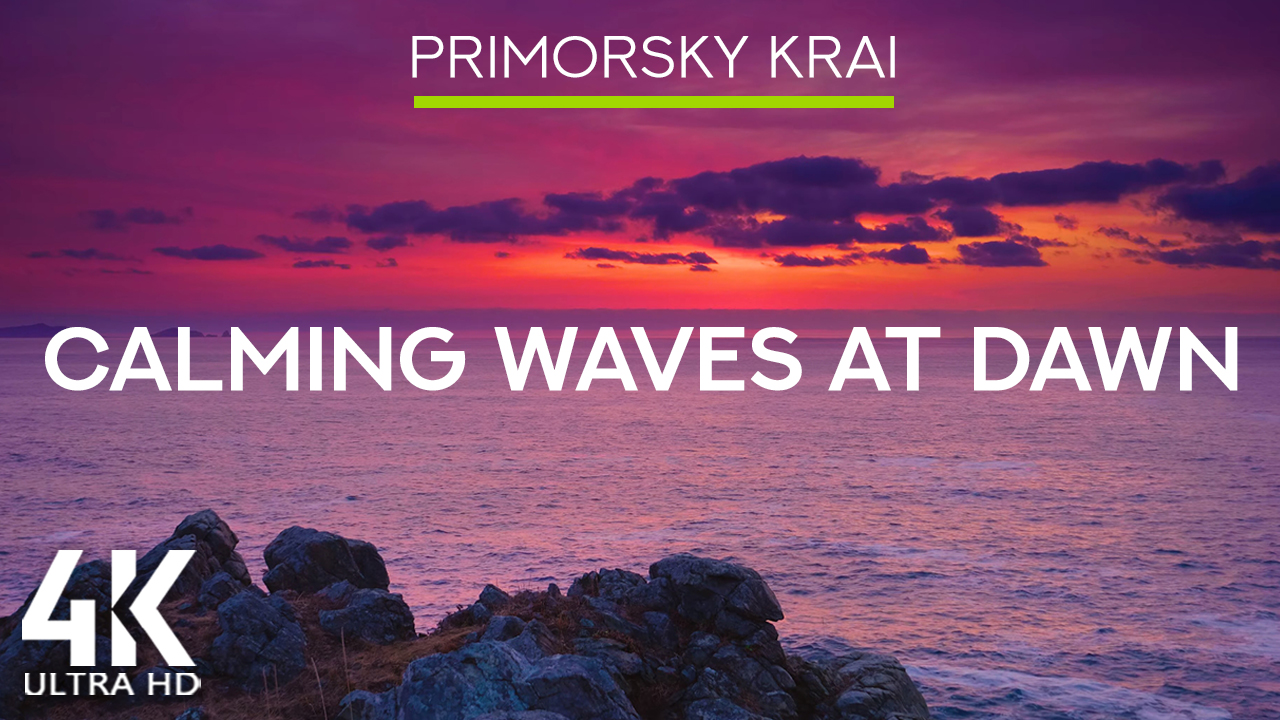 8_HRS_of_Soothing_Ocean_Waves_Sounds_The_Purple_Dawn_over_Primorskiy