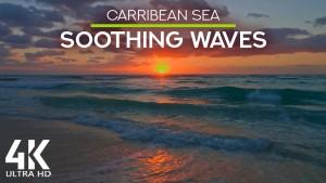 4k_Caribbean_Sea_Sunrise_Playa_Del_Carmen_Neture_Relax_Video_YOUTUBE