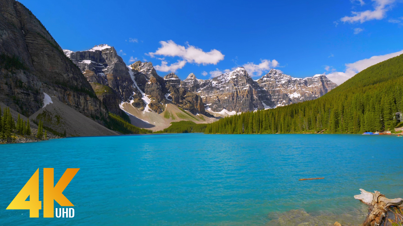 4k ONE DAY IN Moraine Lake CANADA YOUTUBE