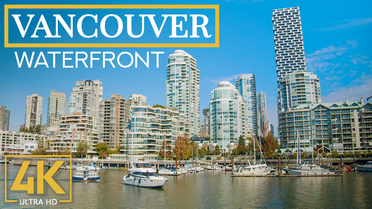 4k AUTUMN CHARM OF VANCOUVER WATERFRONT FILM YOUTUBE