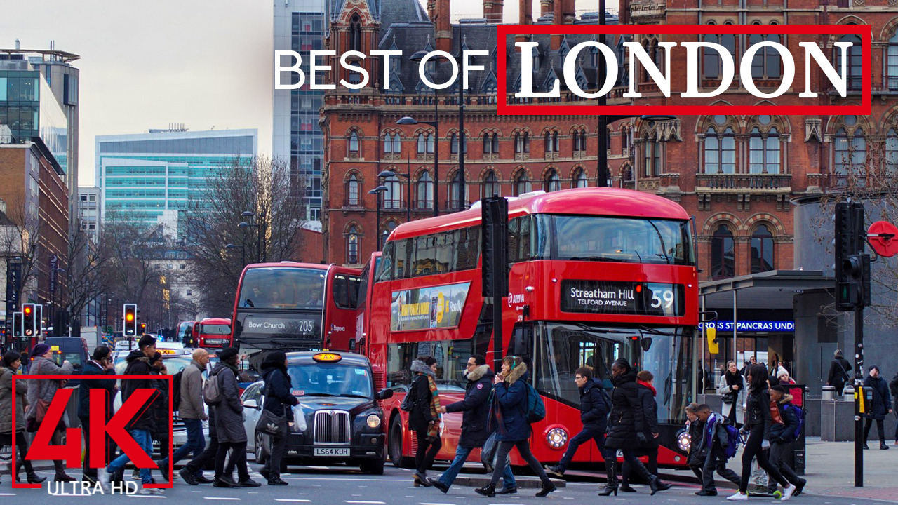 4k Best of LONDON from Urban Life Channel YOUTUBE
